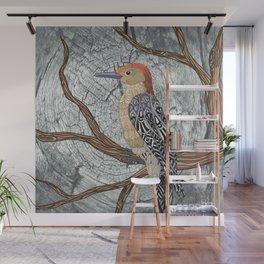 Woodpecker Wall Mural