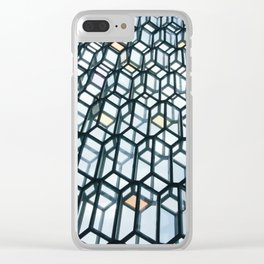 Harpa Concert Hall Clear iPhone Case