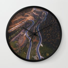 Road from above Wall Clock