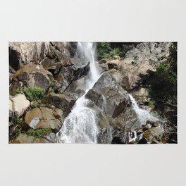 Waterfall in Kings Canyon Rug