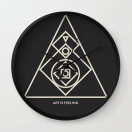 ReyStudios Monochromatic 7 Wall Clock