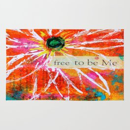 Free to Be ME Rug