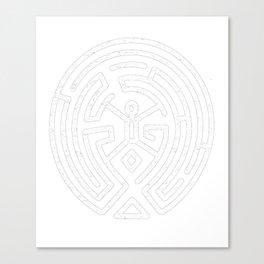 Westworld Maze Canvas Print