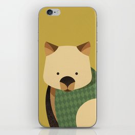 Hello Wombat iPhone Skin