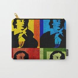 JOHN KEATS, 4-UP POP ART COLLAGE Carry-All Pouch