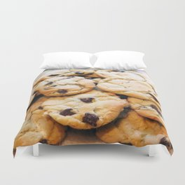 Chocolate Chip Cookies Duvet Cover