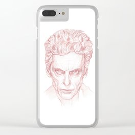 Peter Capaldi as Doctor Who, Twelfth Doctor Clear iPhone Case