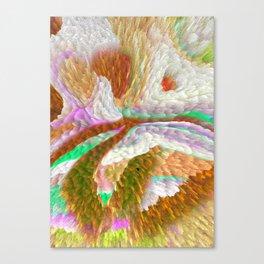 Burning Hole Canvas Print