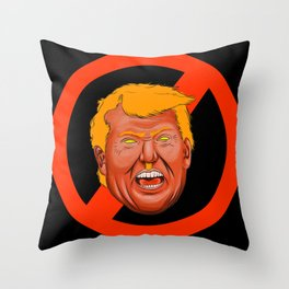 Drumpf Throw Pillow