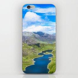 Snowdonia Horseshoe. iPhone Skin