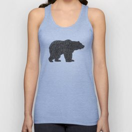 Grizzly Bear Unisex Tank Top