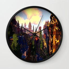 M I N E C R A F T Shaders Wall Clock