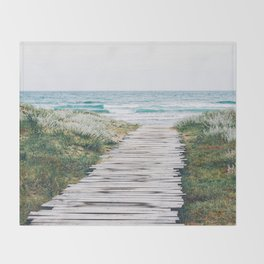 Path to my Heart Throw Blanket
