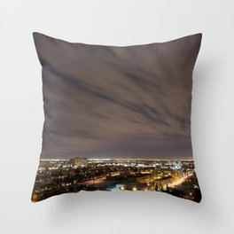 City Nights. Throw Pillow