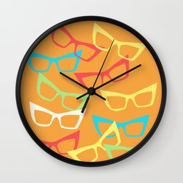 Becoming Spectacles Wall Clock
