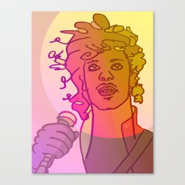 Dear Prince / Stay Wild Collection Canvas Print