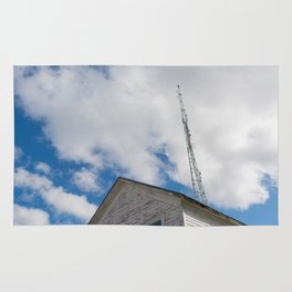 tower to the sky Rug