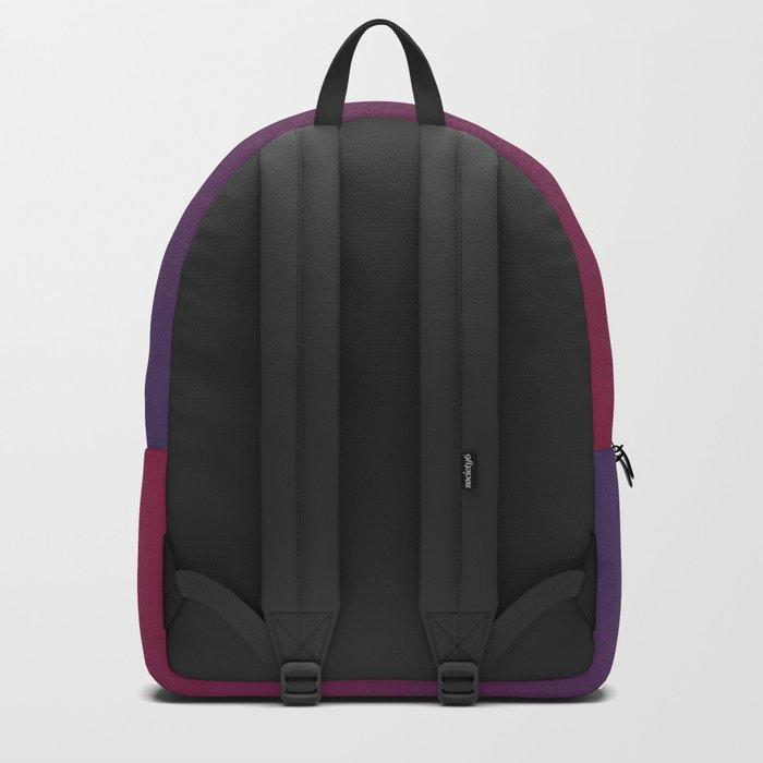 DESTINATION - Minimal Plain Soft Mood Color Blend Prints Backpack