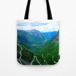 Snake Road Tote Bag