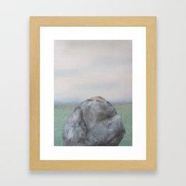 Over or Under? Framed Art Print