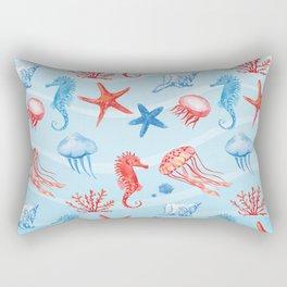 Marine Pattern 09 Rectangular Pillow