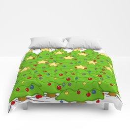 Xmass tree Comforters