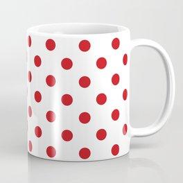 Red Polka Dots Coffee Mug