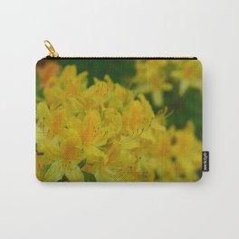 Orange Splash in the Garden Carry-All Pouch