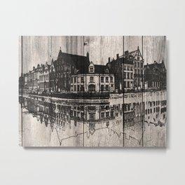 In Bruges, Belgium Metal Print