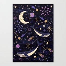 Sea Space Canvas Print
