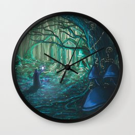 Old One Returning Wall Clock