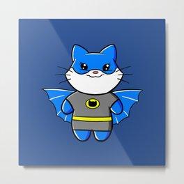 Batcat! Metal Print