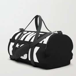 I give a fuck funny quote Duffle Bag