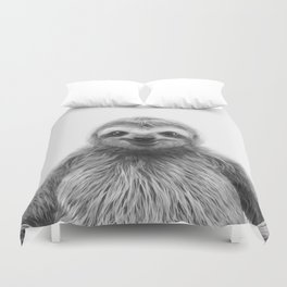 Young Sloth Duvet Cover