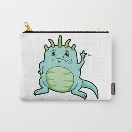 Little Happy Monster Wave Carry-All Pouch