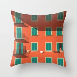 Shyness Throw Pillow