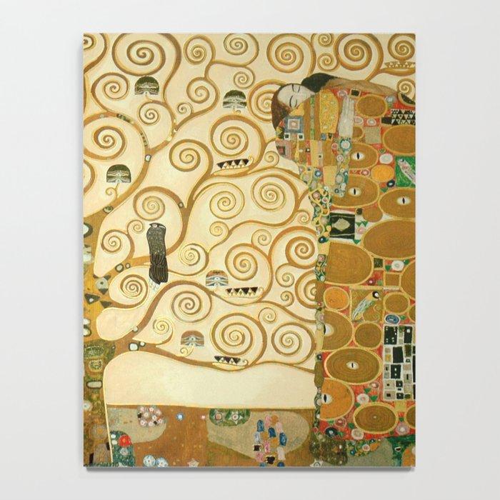 Gustav Klimt - Tree of Life Notebook by constantchaos | Society6