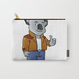 funny koala cartoon Carry-All Pouch