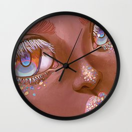 What's On Your Mind? Wall Clock
