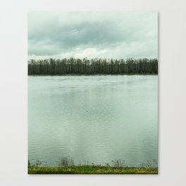 River // State Line Canvas Print