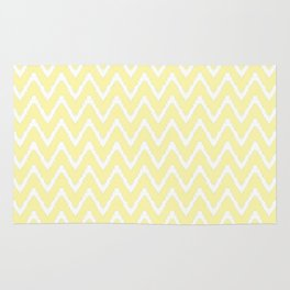 Cream Southern Cottage Ikat Chevrons Rug