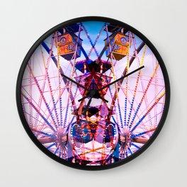 Double Merry Wall Clock