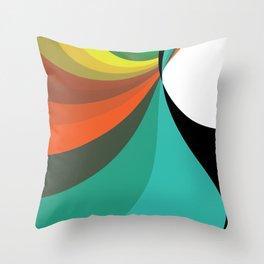 Color Slide Throw Pillow
