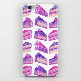 Cake Slices – Unicorn Palette iPhone Skin