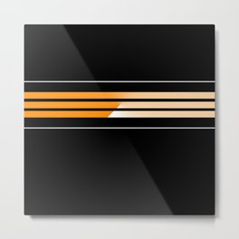 Team Colors 5...Orange Metal Print