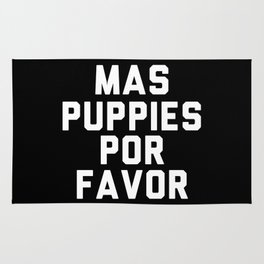 Mas puppies por favor Rug
