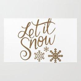 Let it Snow Rug