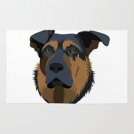 Ruby (German Shepard) Rug