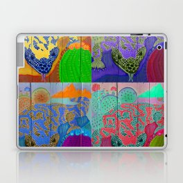 Gila Monsters All Over Laptop & iPad Skin