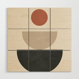 Geometric Modern Art 30 Wood Wall Art